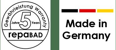 5 Jahre Gewährleistung | Made in Germany
