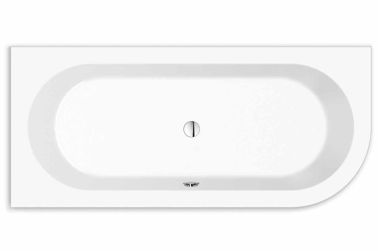 Livorno oval Wand rechts Badewanne