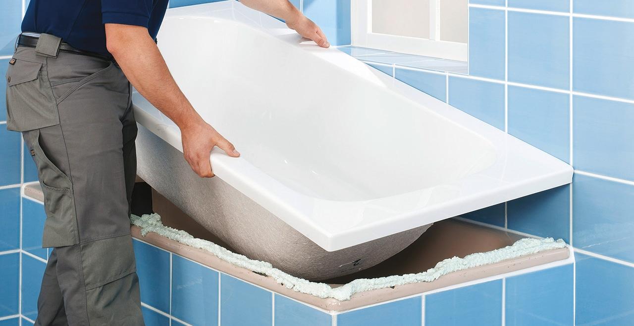Anleitung Badewanne Einsetzen
