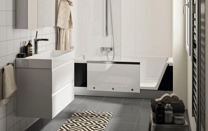 Raum im Wandel Teilsanierung Badezimmer