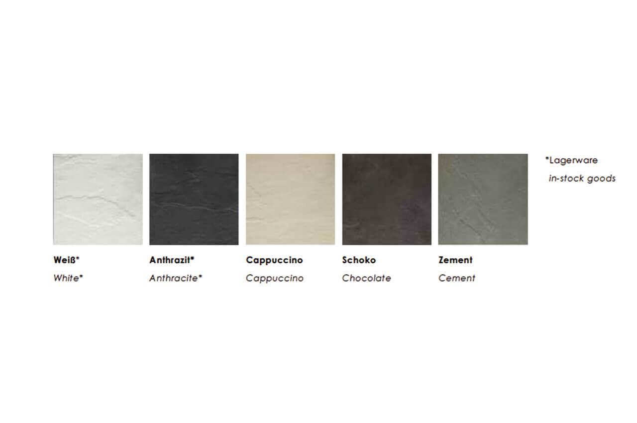 Jura und Granit Farben