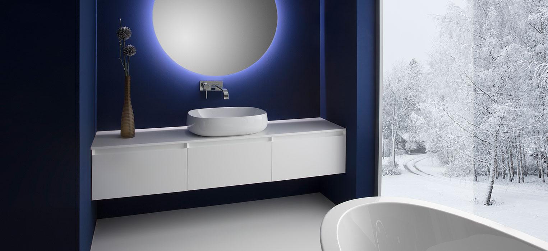 Badezimmer Cube Unterschrank