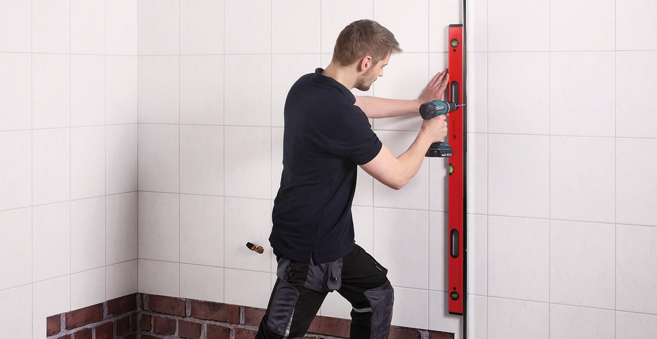 Dusche auf Wanne Anleitung Montage Ausgleichprofile