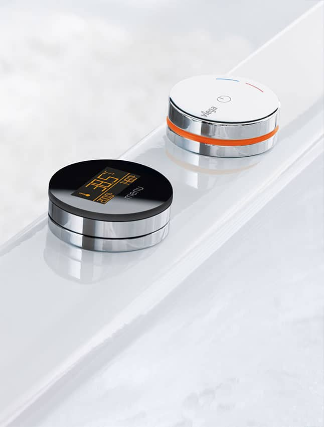Elektronische Badewannenarmatur repabad