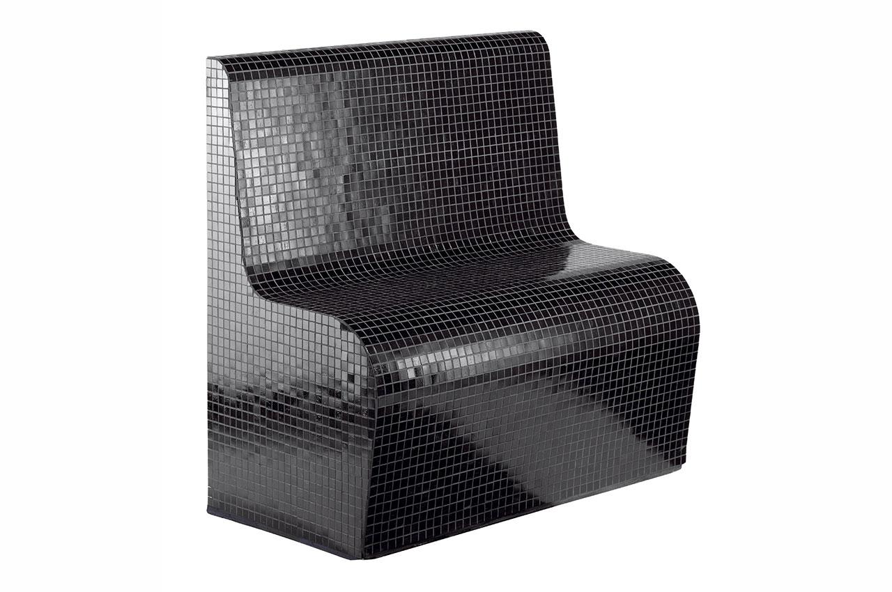 Sitzbank Calgray mit Lehne Badezimmer Sitz