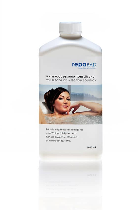 Whirlpool Desinfektionslösung
