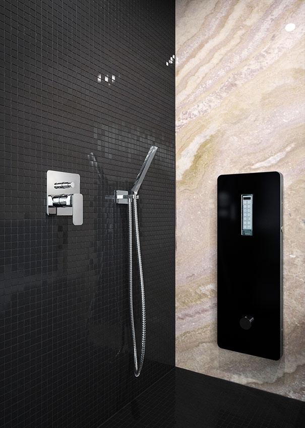 Badgestaltung van der Rohe Dampfbad