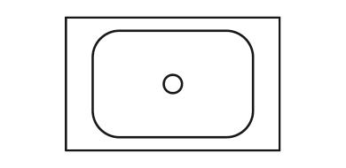 Icon Waschtischplatte
