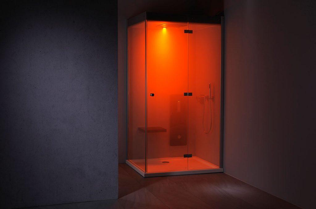 Atlanta Farblichttherapie LED-Powerstrahler Dampfbad