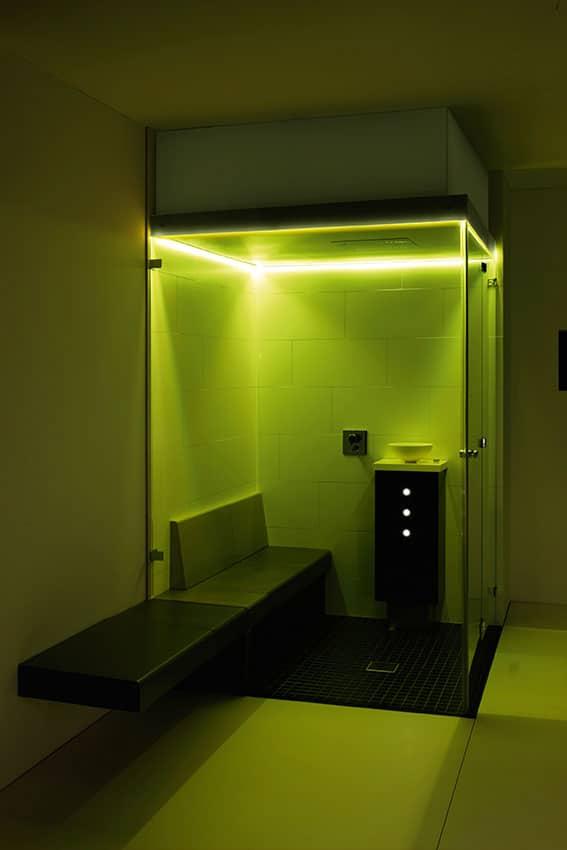 Farblichttherapie indirektes Farblichtsystem gelb