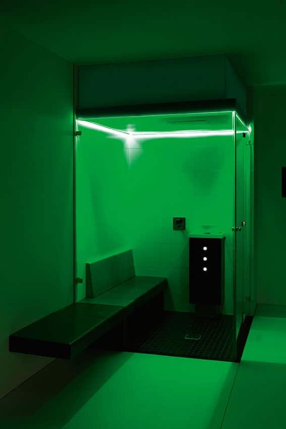 Farblichttherapie indirektes Farblichtsystem grün