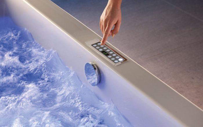 Frischwasserspülung Whirlpoolsystem Whirlpool
