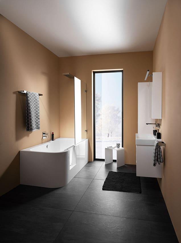 Livorno Easy Duschbadewanne Tür Badewanne