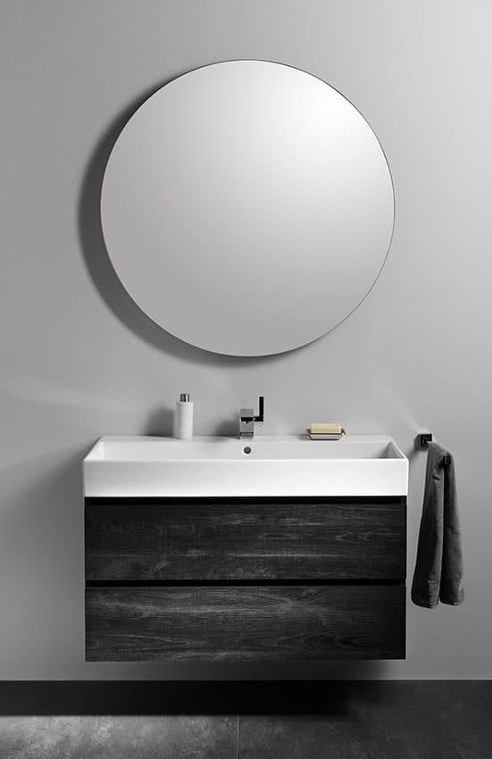 Atmosphärischer Badspiegel Mit Beleuchtung Look 7