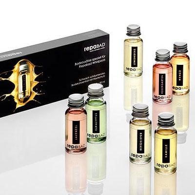 Aromatherapie Badezusätze Probierfläschchen