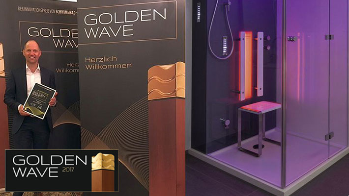 Golden Wave Award Toronto Infrarot Dampfbad