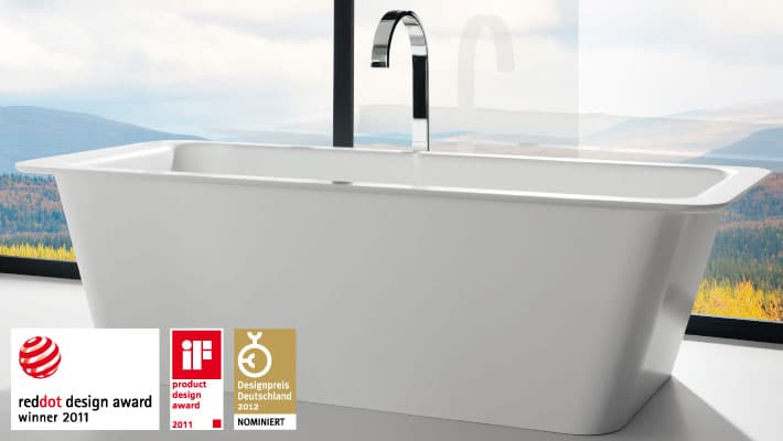 reddot Design Award Badewanne Unique