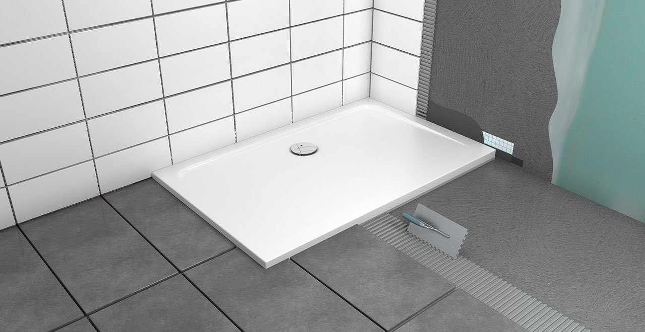 Dusche einbauen Installationsbox