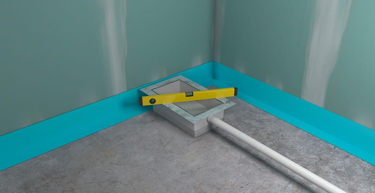 Ebenheit Installationsbox auswiegen