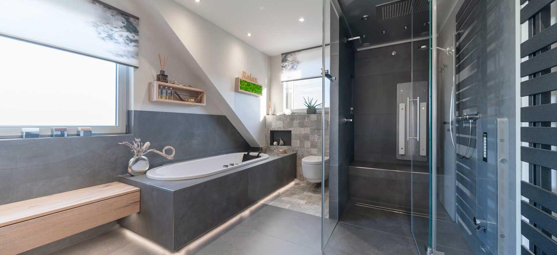 Objektreportage Bad - neues Badezimmer