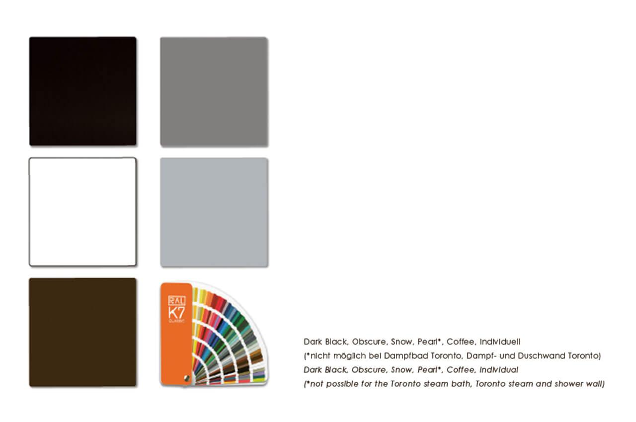 Glaspaneel Farben Repabad