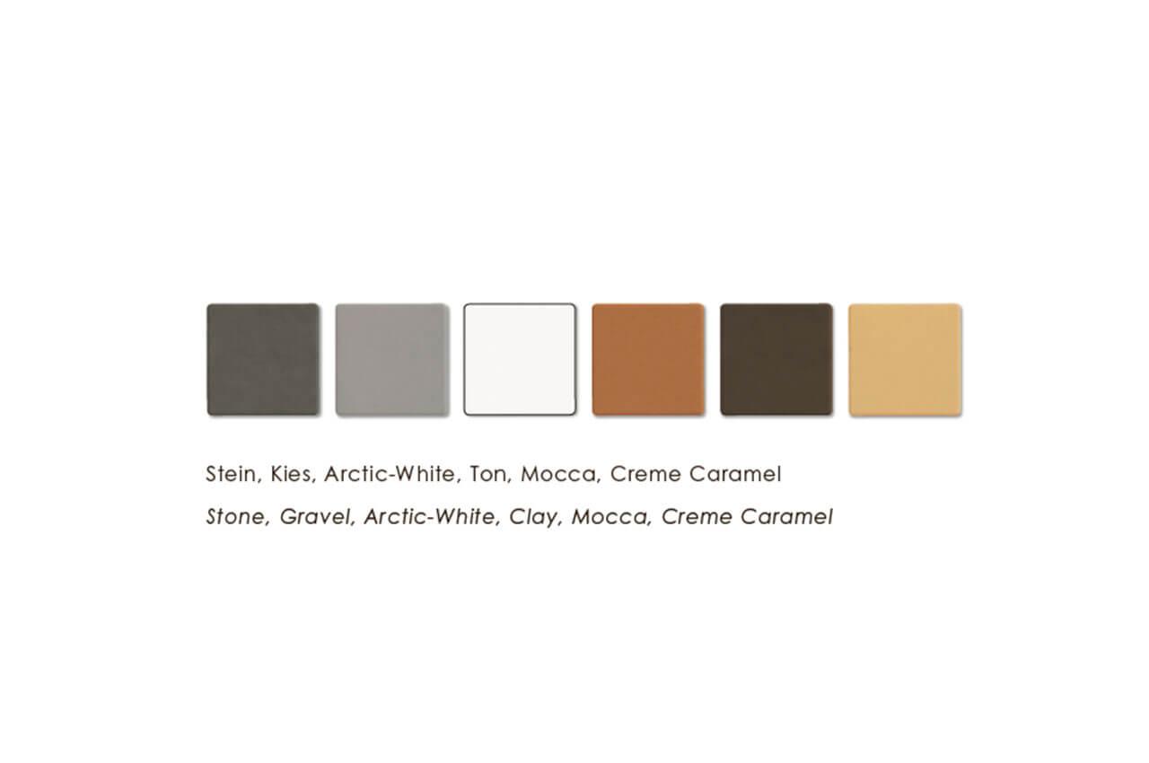 Keramik Farben Sitzbank Vancouver