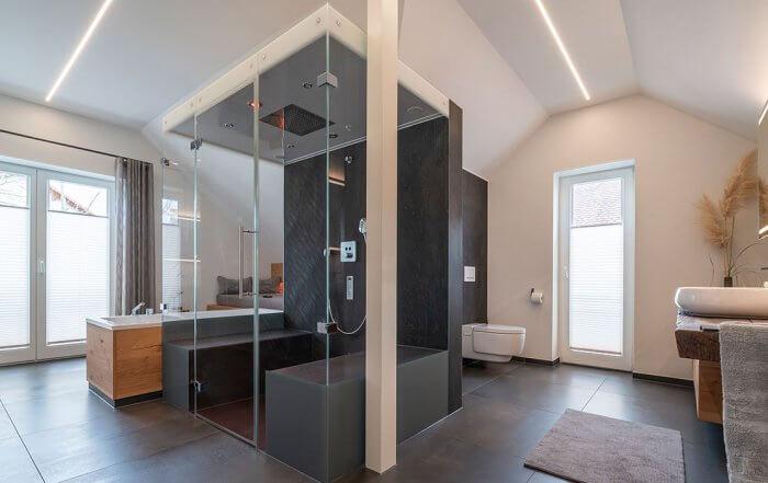 Objektreportage Badezimmer zum Wohlfühlen