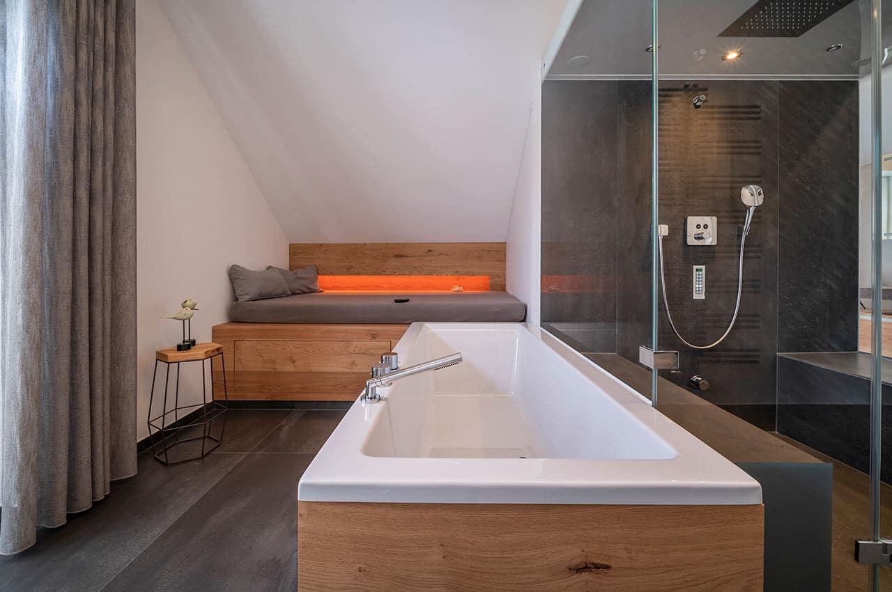 Badewanne Massagefunktion