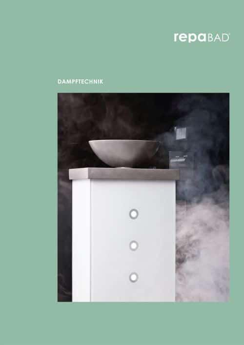 Repabad Dampftechnik Broschüre 2020 - Dampfbadtechnik auf einen Blick