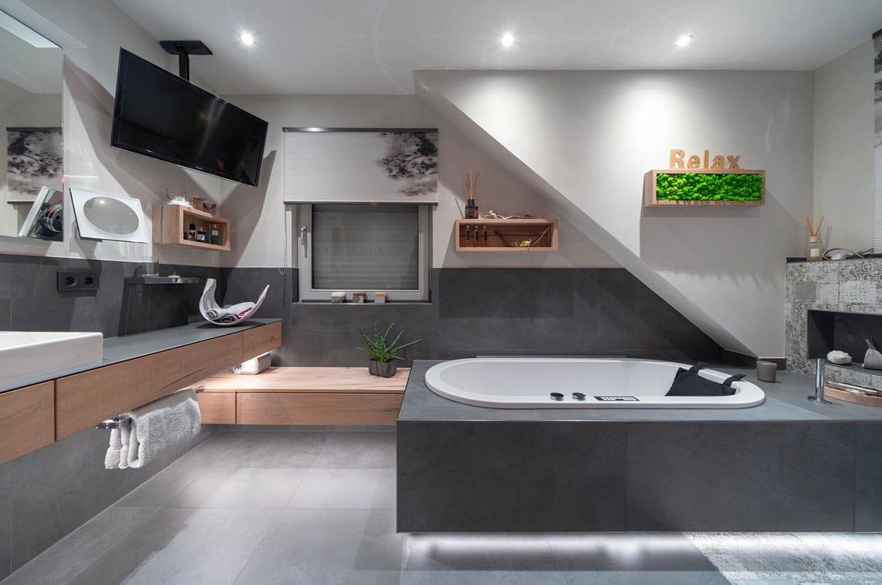 Objektreportage - Das neue Badezimmer