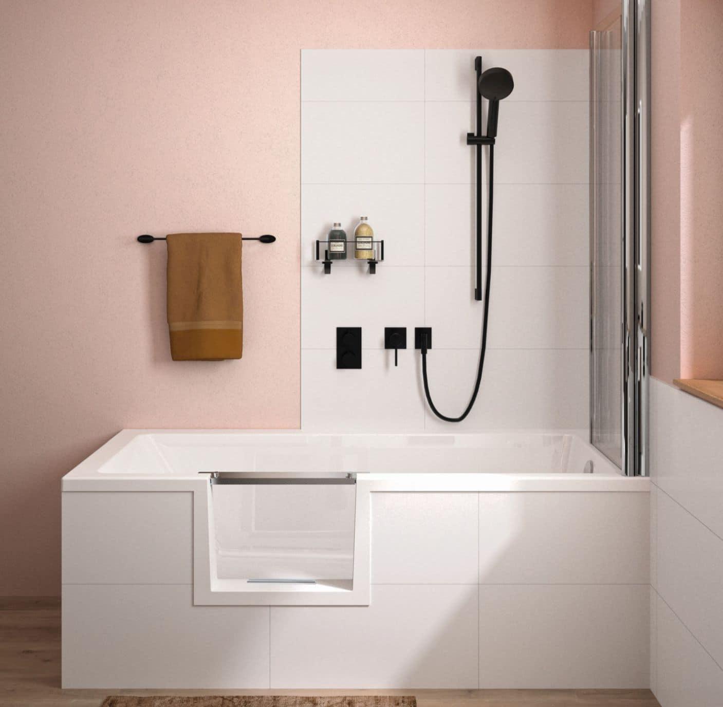 Duschbadewanne Livorno Mono Easy